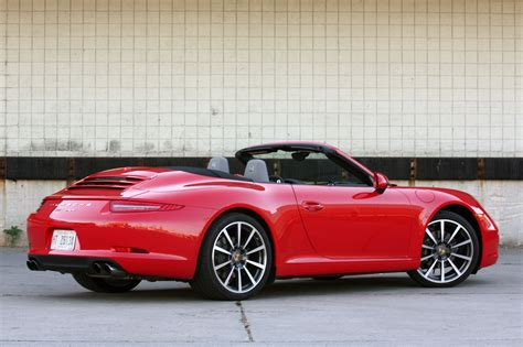 red porsche convertible 2012 porsche 911 carrera cabriolet autoblog