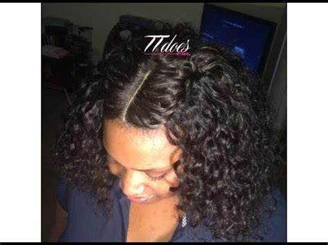 braid pattern for a lace closure full sew in youtube