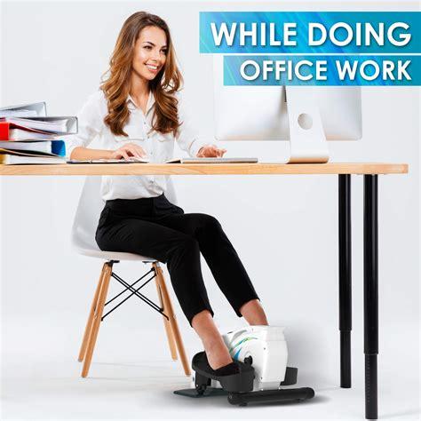 desk elliptical exercise trainer premium compact elliptical  home  office desk