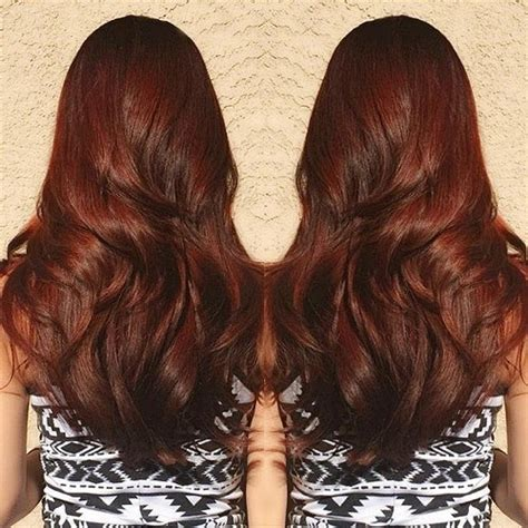 copper brown hair color 40 scrumptious vibrant hues for chocolate brown hair
