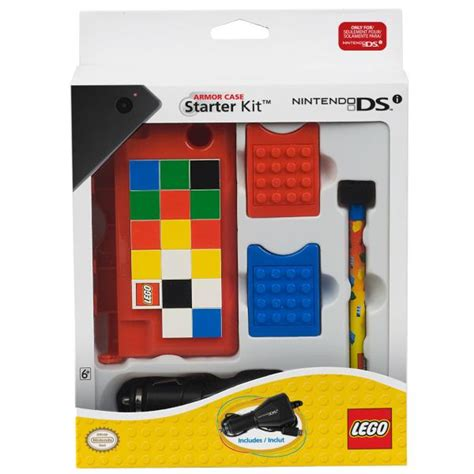 Suit Up Your Nintendo Ds by Lego Armour Nintendo Ds Starter Kit Iwoot