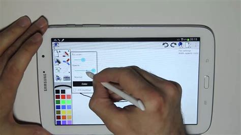 Galaxy Note 8 Sketches by Scribmaster On The Samsung Galaxy Note 8