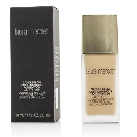 Mercier Candleglow Soft Luminous Foundation mercier candleglow soft luminous foundation 2c1 ecru the club shop makeup