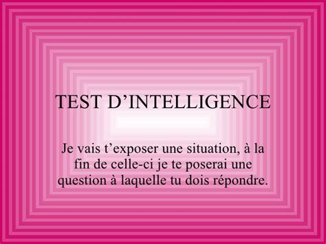 test qi gratis test d intelligence