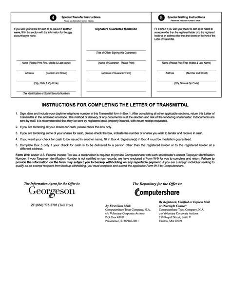 Letter Transmittal Stock Certificate Missing Image T1602763 Pg 02 Jpg