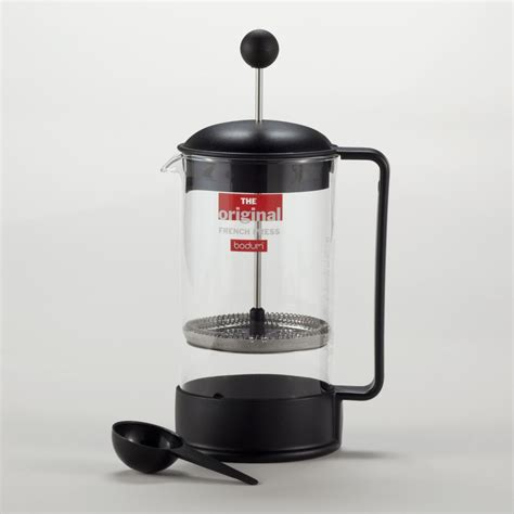 Press Coffee Maker black bodum brazil press coffee maker world market