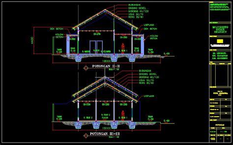 denah rumah  lantai model   denah rumah