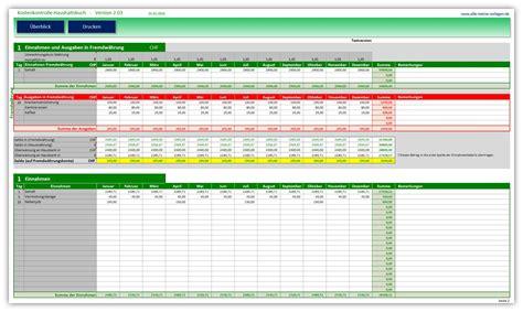 Kostenlose Vorlage Haushaltsbuch Kostenkontrolle Haushaltsbuch 2 03 Alle Meine Vorlagen De
