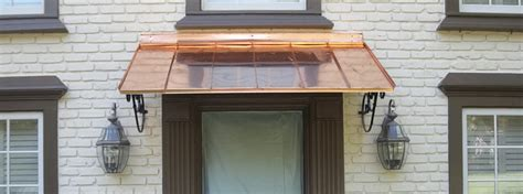 Copper Window Awnings by Laos Standards Home All Information About Home Improvement