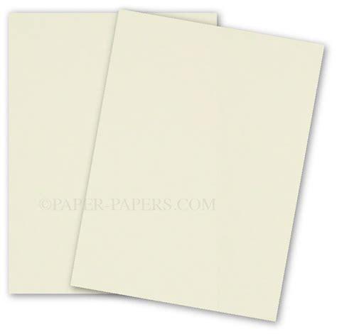 Paper Card - cranes colors 8 5 x 11 card stock paper ecru 100