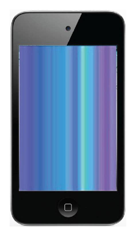 reparation ecran lcd ipod touch  noir ou blanc cs system