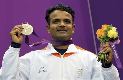 india winner vijay kumar wins silver in rapid pistol at olympics
