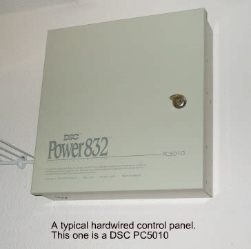 hardwired home security system advantages