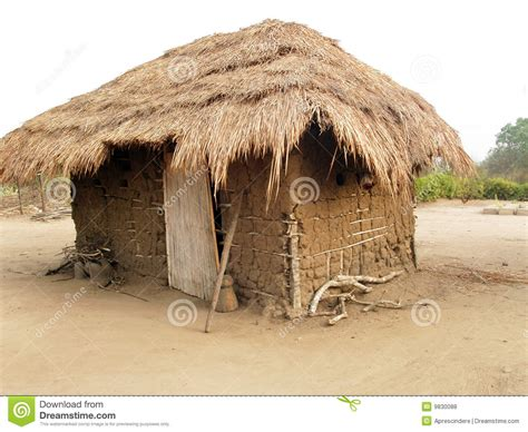Modern Cottage Design by African Hut Royalty Free Stock Photos Image 9830088