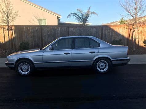 bmw 535i 1990 for sale 1990 bmw 535i e34 5 speed manual low clean