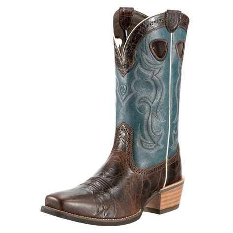 ariat mens rawhide cowboy boots