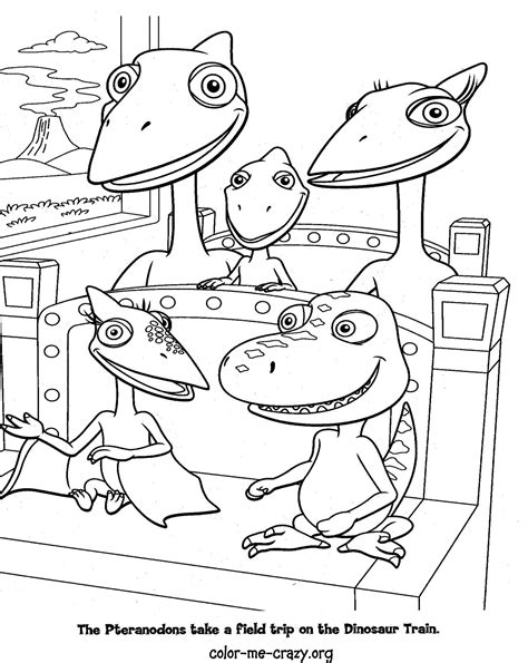 colormecrazy org dinosaur train coloring pages
