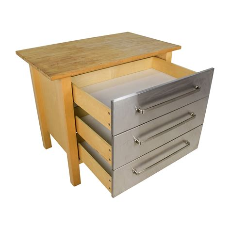 butcher block kitchen island ikea ikea varde kitchen island with drawers roselawnlutheran