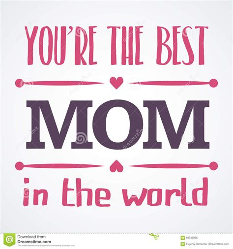 Best Gift Cards For Mom - happy mothers day typographical illustration the best mother in the world gift card
