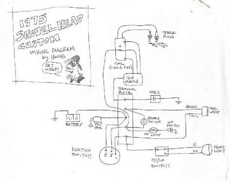 wiring diagram 77 harley davidson shovelhead wiring get