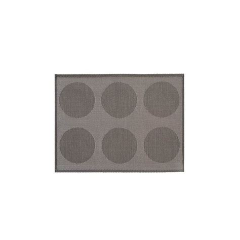 Denby Woven Vinyl Rectangular Placemat by Denby Pottery Lifestyle Woven Vinyl Placemat Silver