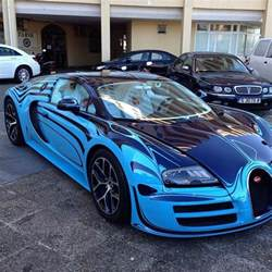 Bugatti Veyron Custom Bugatti Veyron With Custom Paint Cars
