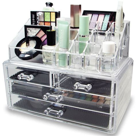 Makeup Organizer acrylic jewelry and makeup organizer mycosmeticorganizer
