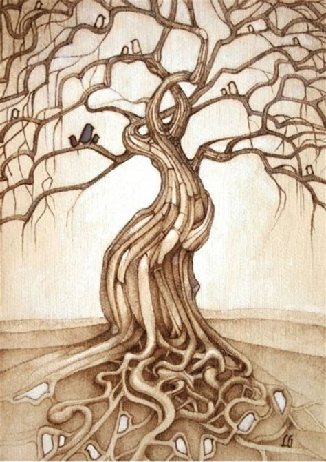 pyrography templates free pyrography tree patterns images