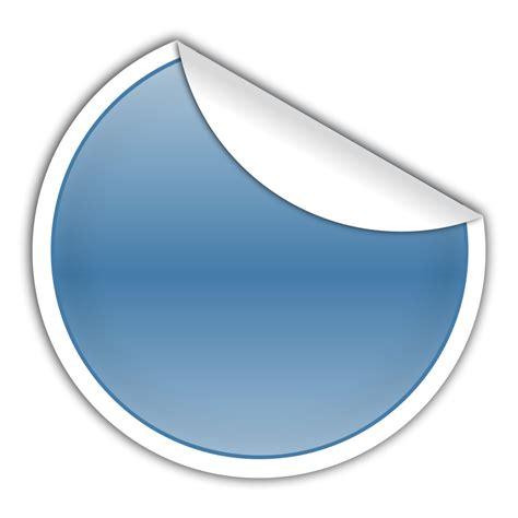 Blue Sticker SVG Clip arts download   Clip arts free png