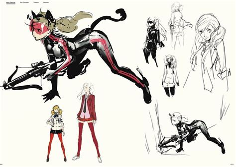 the art of persona the art of persona 5 design character design and the o jays