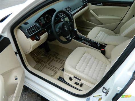 volkswagen passat 2013 interior cornsilk beige interior 2013 volkswagen passat v6 sel