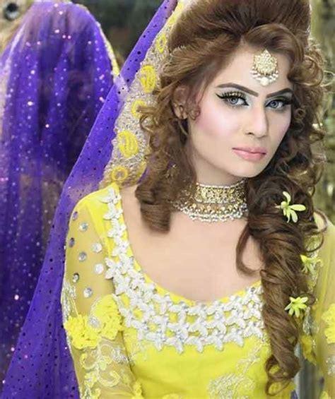 pakistani hairstyles videos party hair style pakistani girls hairstyle foto bugil