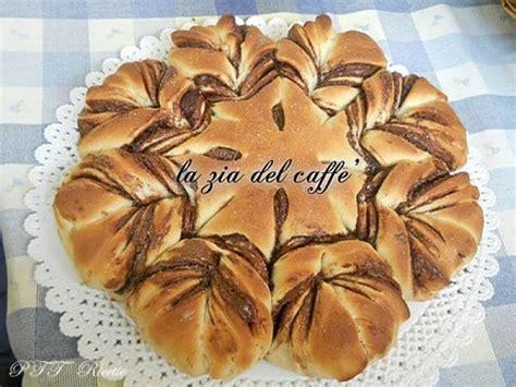 pan brioche a fiore fiore di panbrioche con nutella ptt ricette
