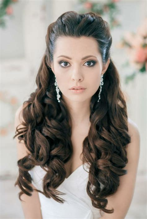 Brautfrisuren Schulterlanges Haar by 55 Brautfrisuren Stilvolle Haarstyling Ideen F 252 R Lange Haare