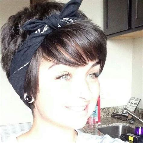 images of short choppy hair with bandanna 154 best images about hair on pinterest warehouse 13