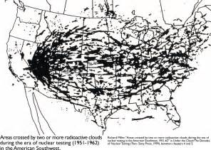 us radiation fallout map advocacy maps maps diy cartography
