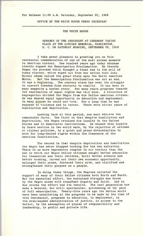 The Emancipation Proclamation Essay by Emancipation Proclamation Essay Outline