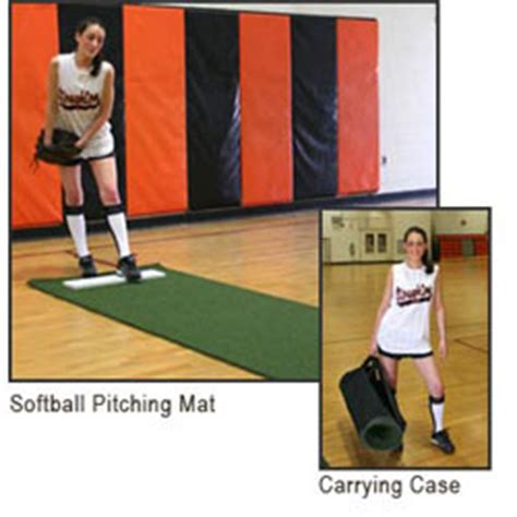 Softball Pitching Mat by Softball Pitching Mat Jumpusa