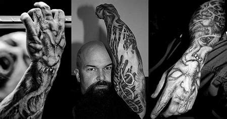kerry king tattoos paul booth on kerry king slayer tattoos