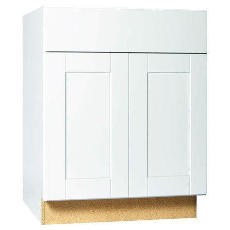 hton bay cabinets white shaker hton bay 30x34 5x24 in hton sink base cabinet in
