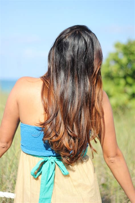 ombre hair for brunettes brunette ombre hair beautiful as the brunette