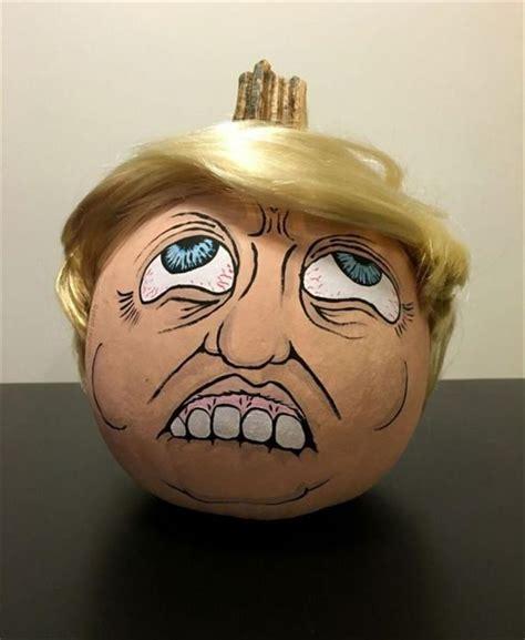 latest craze  pumpkin carvings  present trumpkins  pics