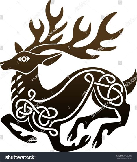 celtic knot deer www pixshark com images galleries