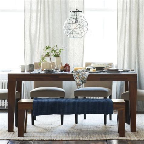 west elm carroll bench carroll farm dining table
