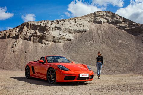 lava orange porsche first drive porsche 718 boxster s