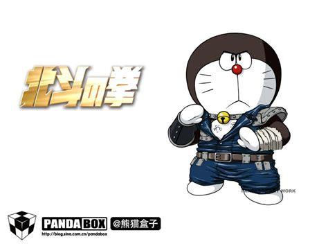 T Shirt Panda Black Metal Putih of the doraemon plus