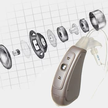 comfort hearing affordable mini behind the ear bte digital hearing aid