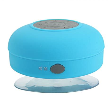Smart Box Bluetooth Speake Blue Sk2rbl mini waterproof wireless bluetooth speaker with sucker blue for xiaomi smartphone