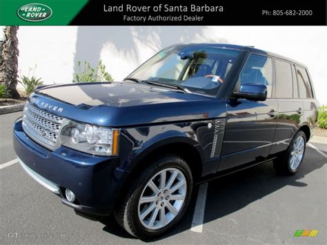 dark blue range rover 2011 baltic blue land rover range rover supercharged