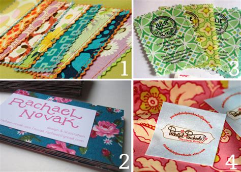 Handmade Business Cards Ideas - creative handmade business card ideas oh my handmade